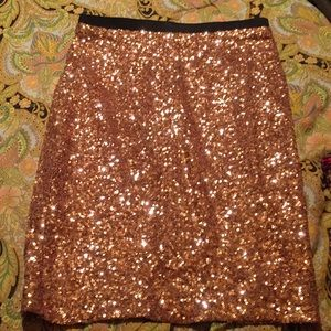 The Limited Rose Gold Pink Skirt SiZe XS